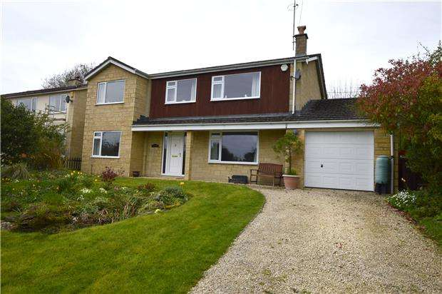 4 Bedrooms Detached House for sale in The Headlands, North Woodchester, Gloucestershire, GL5 5PS