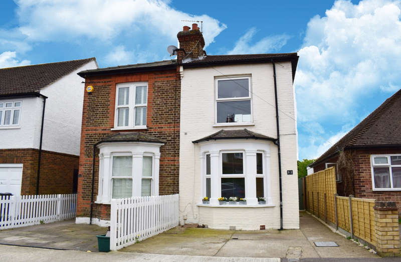 3 Bedrooms Semi Detached House for sale in Tolworth Park Road, Tolworth, Surrey