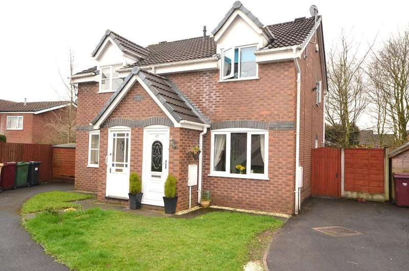 2 Bedrooms Semi Detached House for sale in Miry Lane, Westhoughton BL5