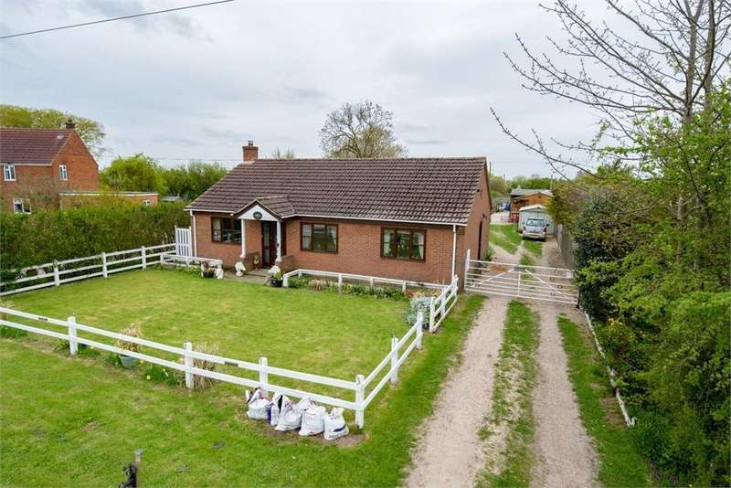 3 Bedrooms Detached Bungalow for sale in Bull Drove, Wrangle, Boston, Lincolnshire