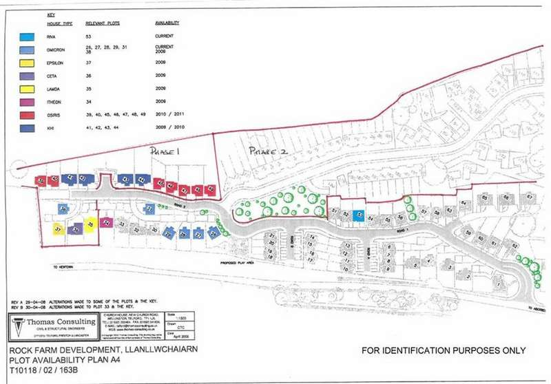 Land Commercial for sale in Development Land, At Maes Briallan, Llanllwchaiarn, Newtown, Powys, SY16