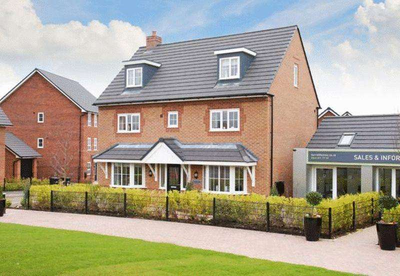 5 Bedrooms Detached House for sale in Warwick at Malbank Waters, Queens Drive, Nantwich