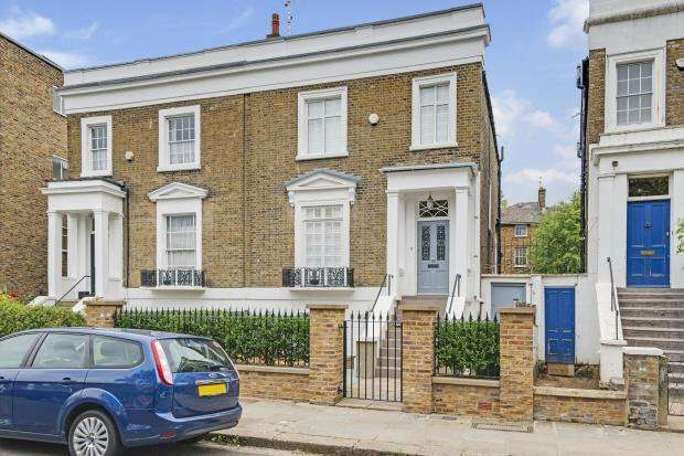 5 Bedrooms Semi Detached House for sale in Rochester Road, Camden, London, NW1