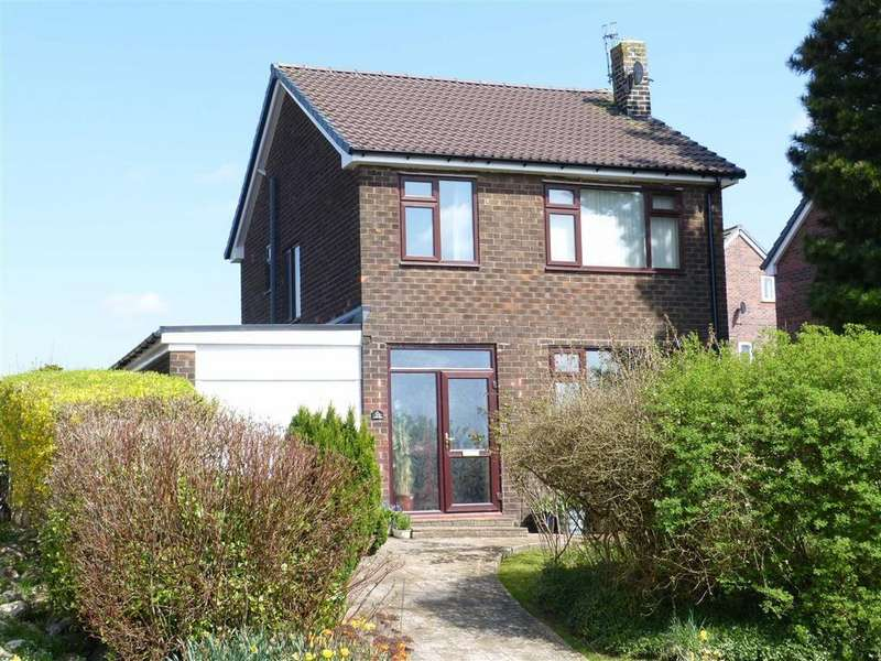 4 Bedrooms Detached House for sale in Higher Barn Road, Hadfield, Glossop