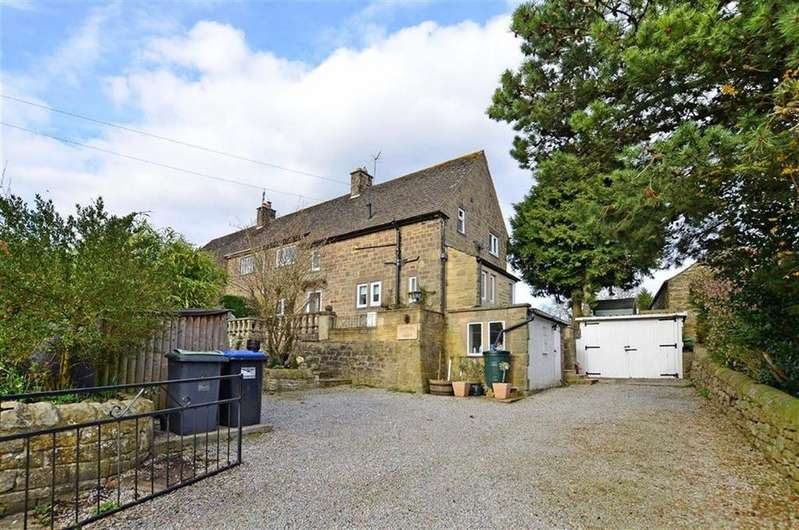 3 Bedrooms Semi Detached House for sale in 1, Vicarage Croft, Rowsley, Matlock, Derbyshire, DE4