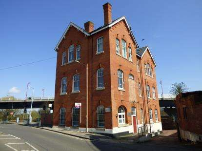 2 Bedrooms Flat for sale in Amber House, Railway Terrace, Derby, Derbyshire