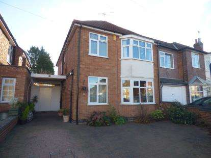 3 Bedrooms Detached House for sale in Mere Road, Wigston, Leicester