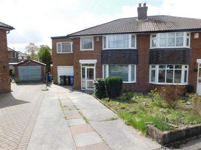 4 Bedrooms Semi Detached House for sale in Boundary Close, Woodley, Stockport