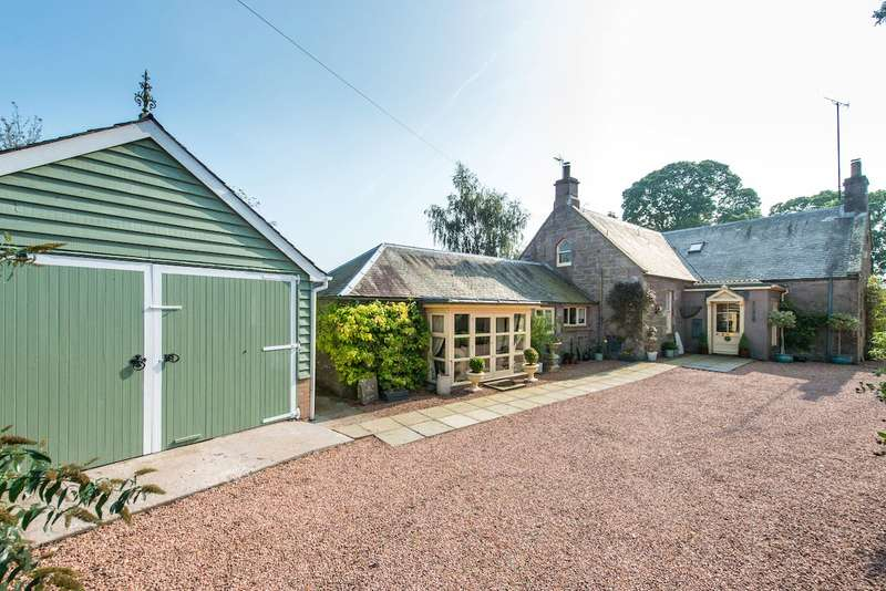4 Bedrooms Detached House for sale in Wester Leys House, Hallyburton, Nr Kettins, Blairgowrie, Perthshire, PH13