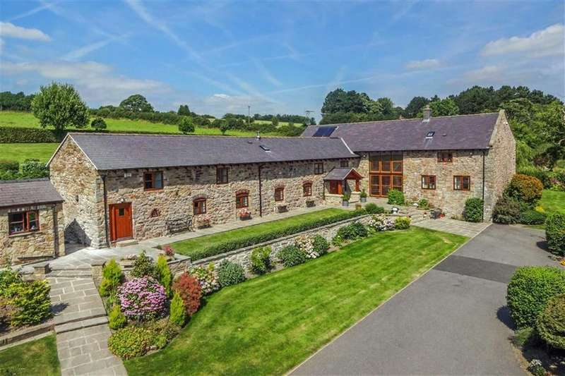 4 Bedrooms Detached House for sale in Pentre Saeson, Bwlchgwyn, Wrexham