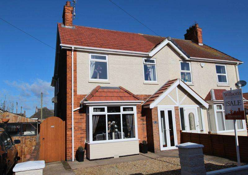 3 Bedrooms Semi Detached House for sale in Hoylake Drive, Skegness