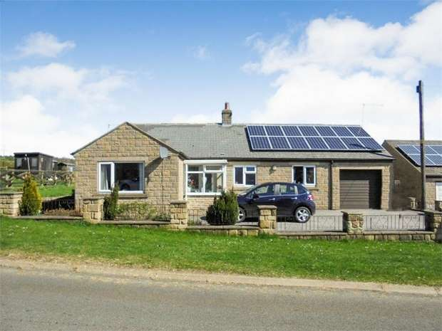 3 Bedrooms Detached Bungalow for sale in Lane Head, Copley, Bishop Auckland, Durham