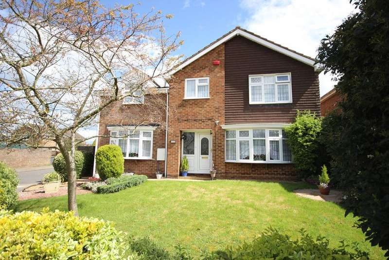 5 Bedrooms Detached House for sale in Turnpike Drive, Luton, LU3