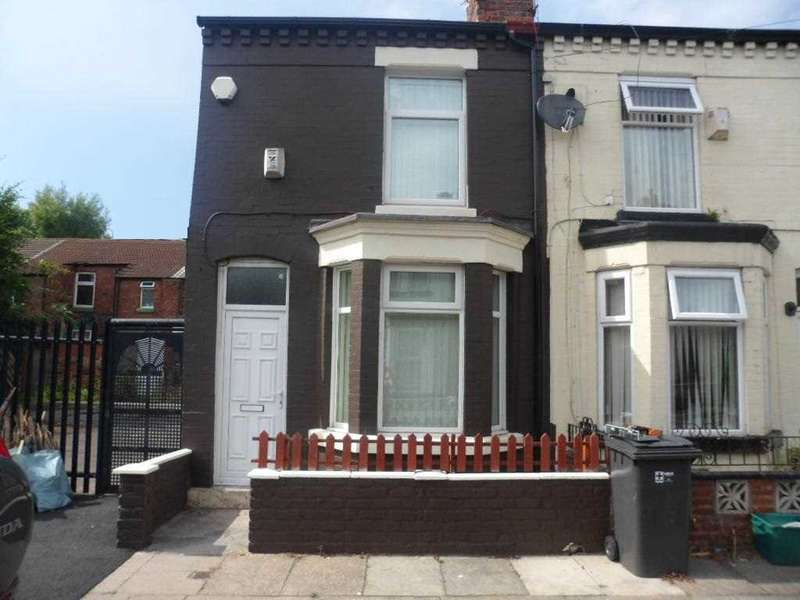 2 Bedrooms End Of Terrace House for sale in Beechwood Road, Litherland