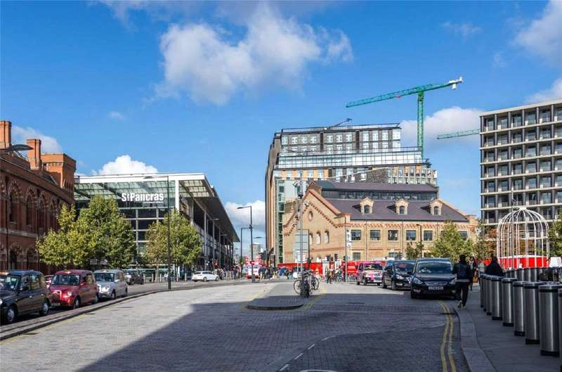 2 Bedrooms Apartment Flat for sale in St Pancras Place, 277A Gray's Inn Road, Kings Cross, WC1X