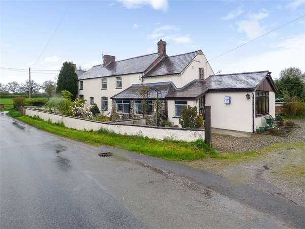 4 Bedrooms Detached House for sale in Dobsons Bridge, Whixall, Whitchurch, Shropshire