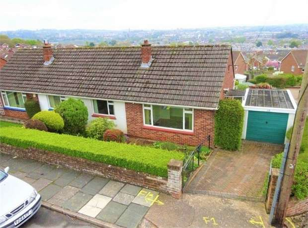 2 Bedrooms Semi Detached Bungalow for sale in Croft Chase, Higher St Thomas, EXETER, Devon