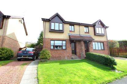 3 Bedrooms Semi Detached House for sale in Maclean Place, Stewartfield