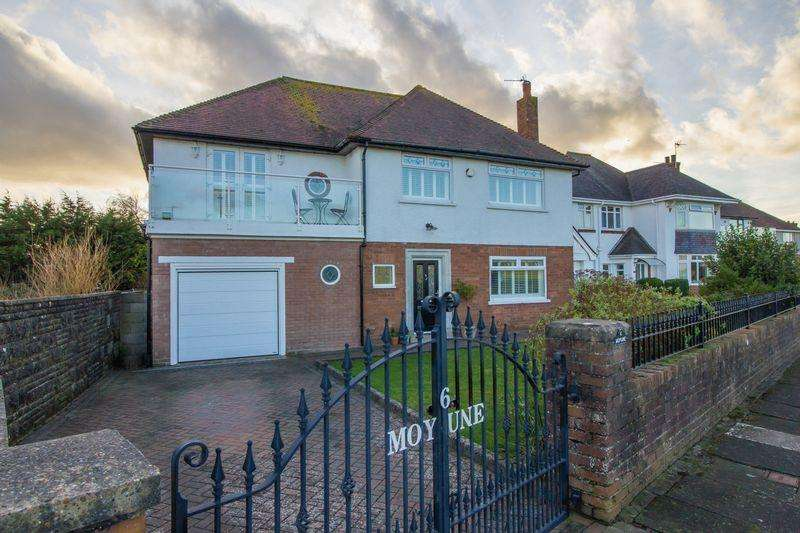 4 Bedrooms Detached House for sale in Channel View, Penarth