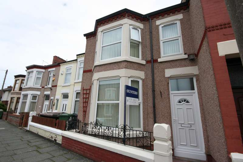 3 Bedrooms Terraced House for sale in Bridle Road, Wallasey, CH44 7BG