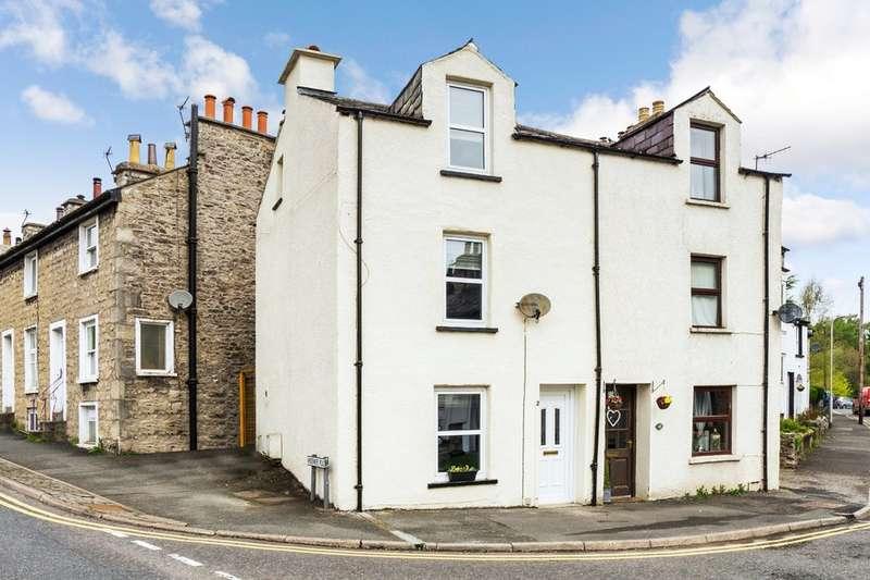 3 Bedrooms Semi Detached House for sale in 2 Green Road, Kendal, Cumbria, LA9 4QR
