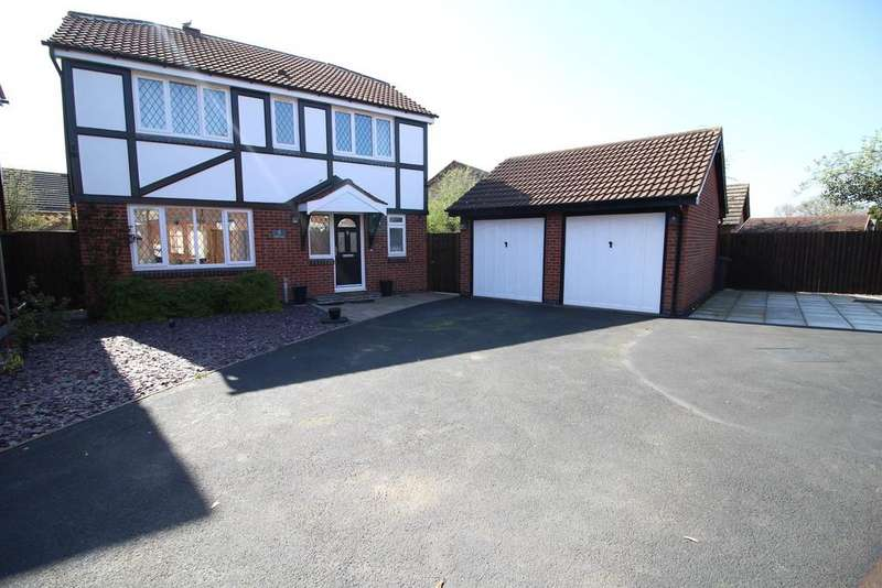 4 Bedrooms Detached House for sale in Wakefield Drive, Whitwick
