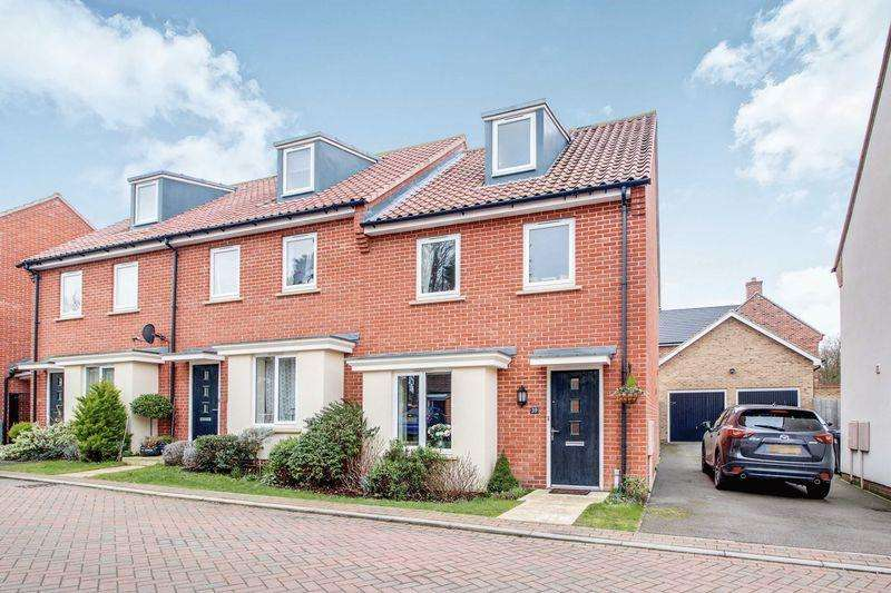 3 Bedrooms Terraced House for sale in Adams Drive, St Ives