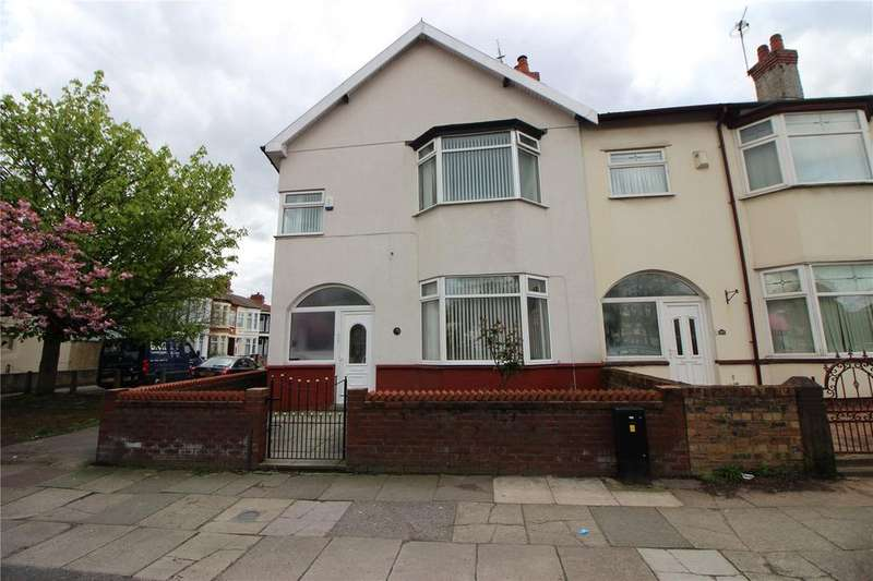 4 Bedrooms End Of Terrace House for sale in Queens Drive, Stoneycroft, Liverpool, Merseyside, L13