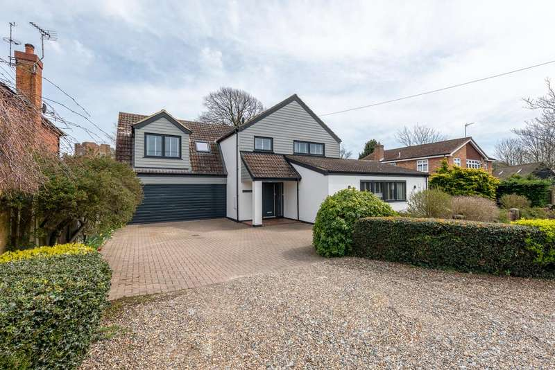 4 Bedrooms Detached House for sale in Martello Lane, Old Felixstowe IP11