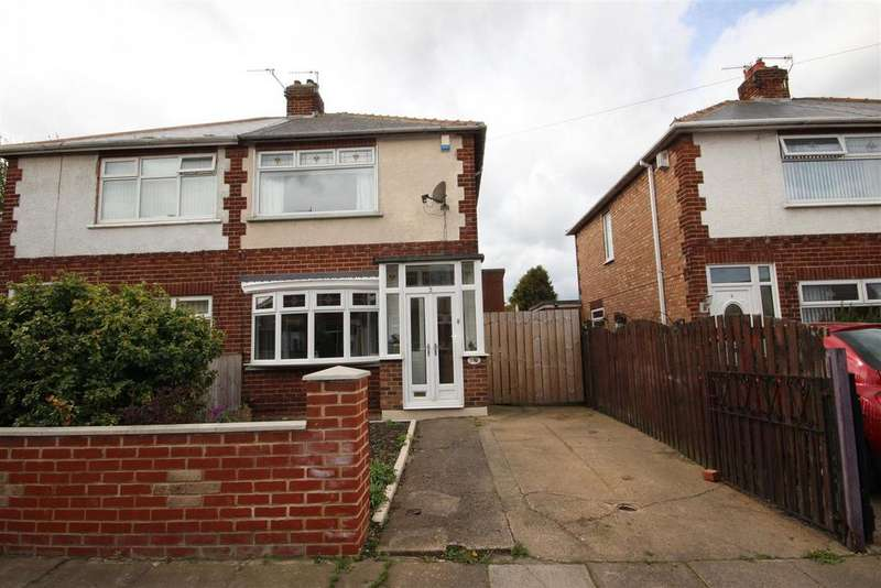 2 Bedrooms Semi Detached House for sale in May Street, Hartlepool