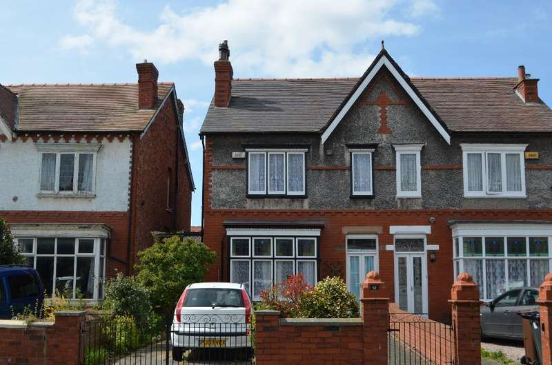 3 Bedrooms Semi Detached House for sale in Dinorwic Road, Birkdale, Southport, PR8 4DL