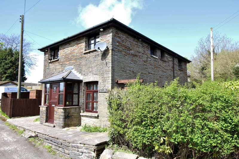 3 Bedrooms Detached House for sale in Ty Newydd Farm, Heol Ty Newydd, Bedwellty, BLACKWOOD, NP12