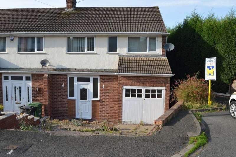 3 Bedrooms Semi Detached House for rent in Mount Close, Lower Gornal