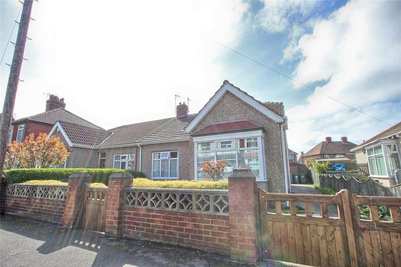 2 Bedrooms Semi Detached Bungalow for sale in Brooksbank Avenue, Redcar