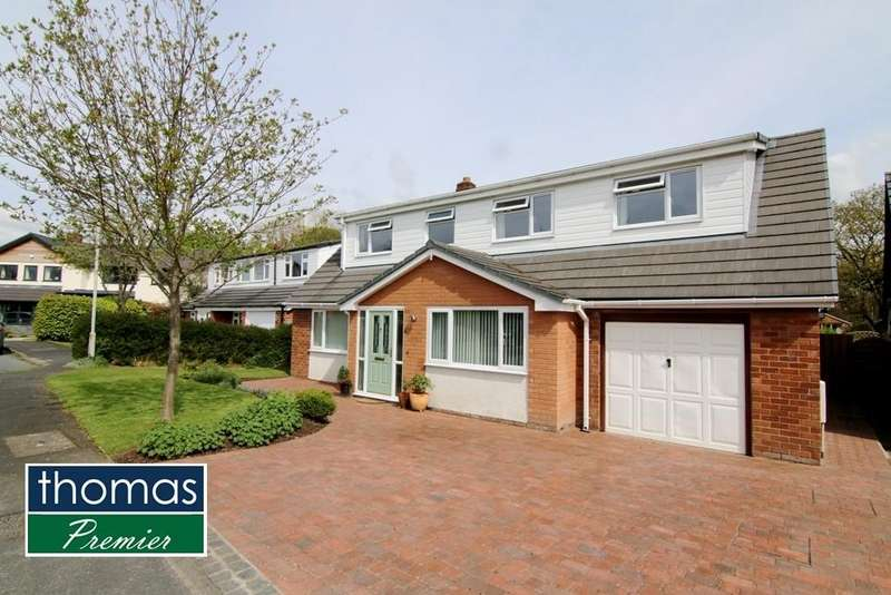 4 Bedrooms Detached House for sale in Rowan Park, Christleton, Chester, CH3
