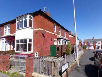 3 Bedrooms End Of Terrace House for sale in Warley Road, Blackpool, Lancashire, FY1