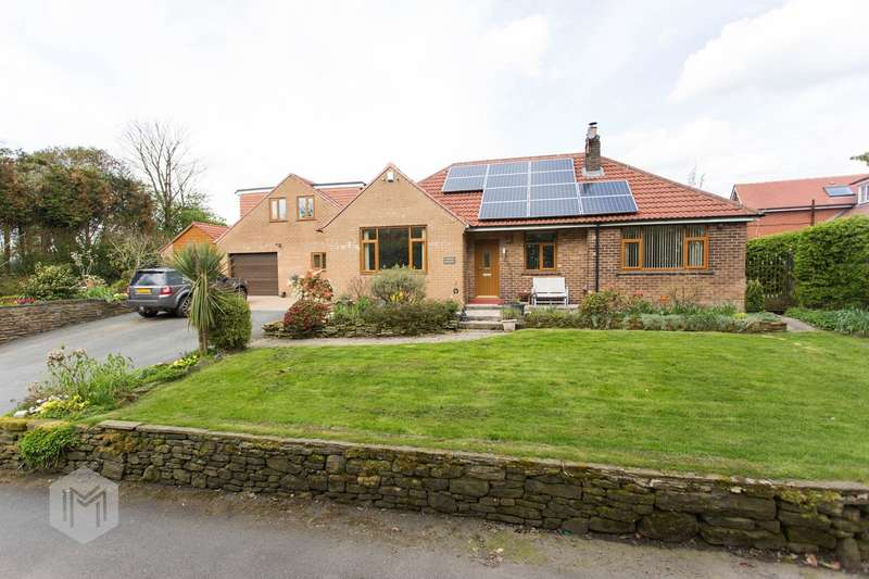 4 Bedrooms Detached Bungalow for sale in Bradshaw Road, Bolton, BL2