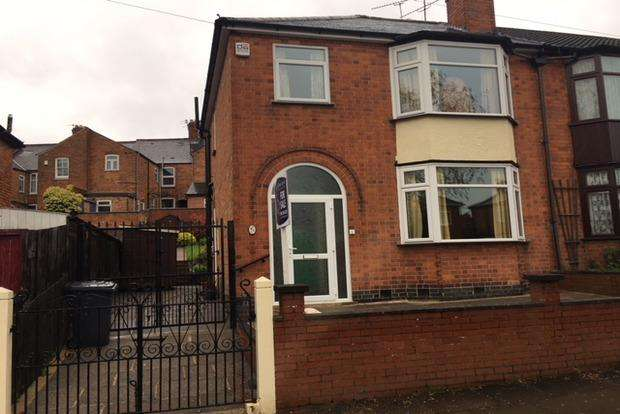 3 Bedrooms Semi Detached House for sale in Westcotes Drive, Western Park, Leicester, LE3