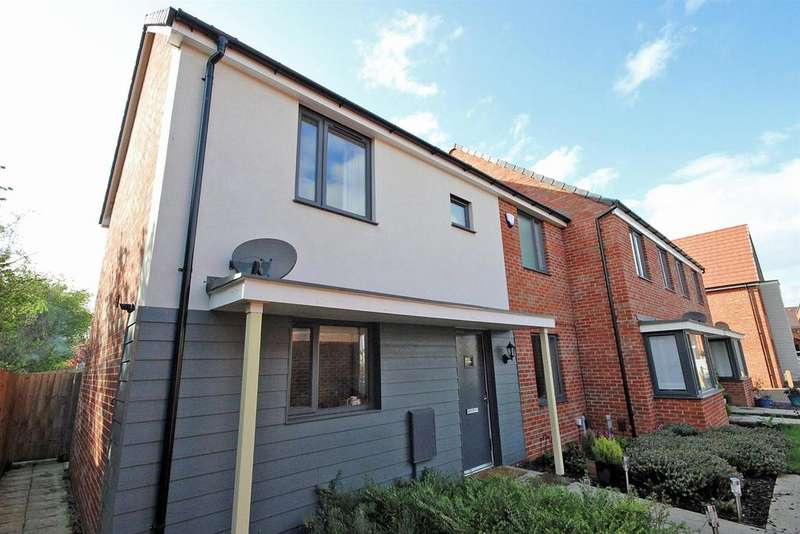 3 Bedrooms End Of Terrace House for sale in Juffs Lane, Off Ashpole Avenue, Wootton