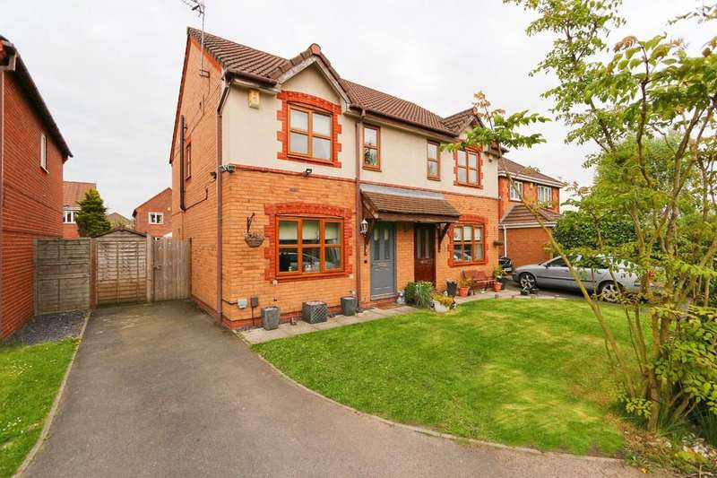 4 Bedrooms Semi Detached House for sale in 7 Churning Terrace, Irlam, Manchester