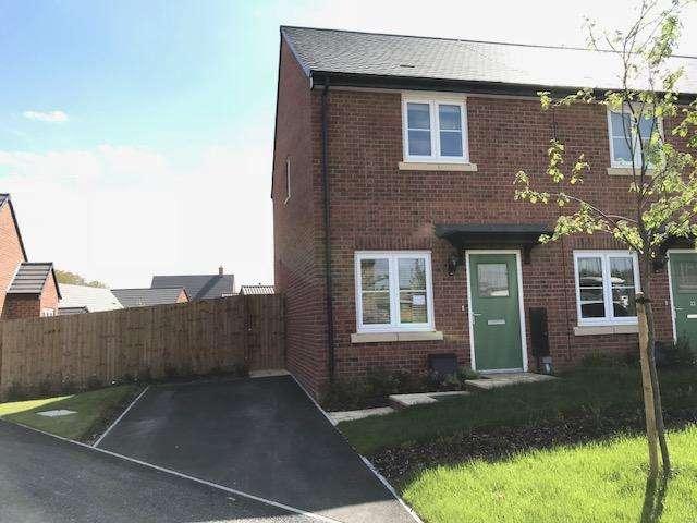 2 Bedrooms Semi Detached House for rent in Harvest Road, Market Harborough LE16