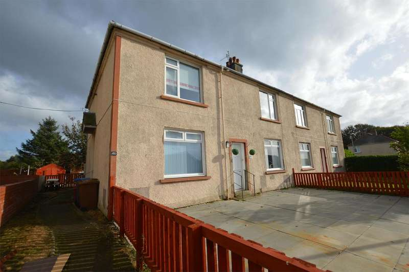 2 Bedrooms Flat for sale in 46 Christie Gardens, Saltcoats, KA21 5NU