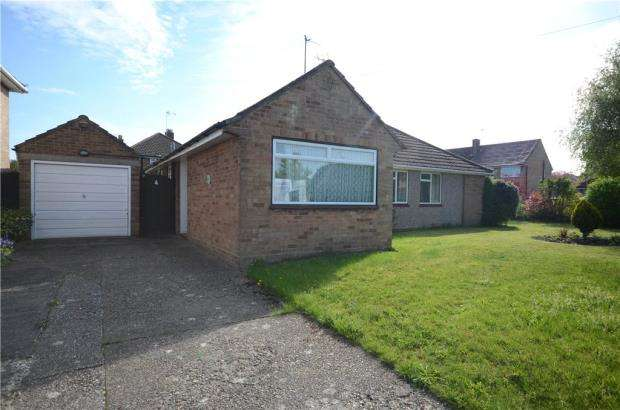 2 Bedrooms Semi Detached Bungalow for sale in Riverside Close, Farnborough, Hampshire