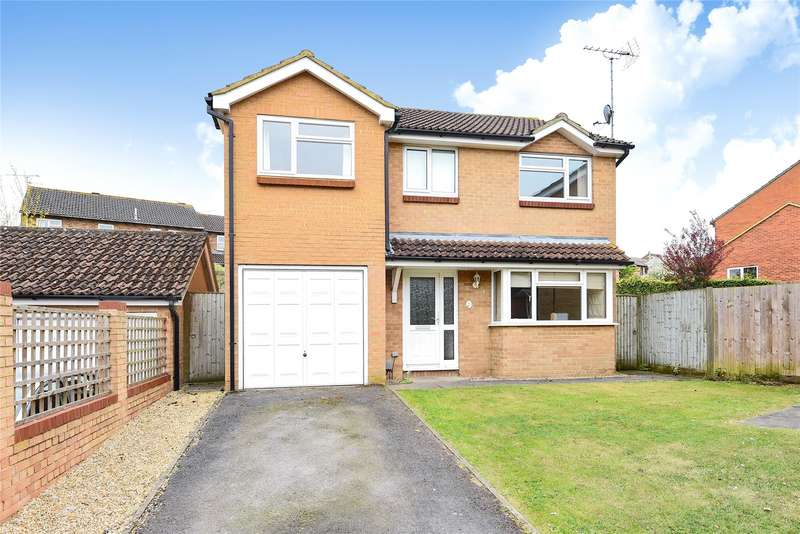 4 Bedrooms Detached House for sale in Egremont Drive, Lower Earley, Reading, Berkshire, RG6