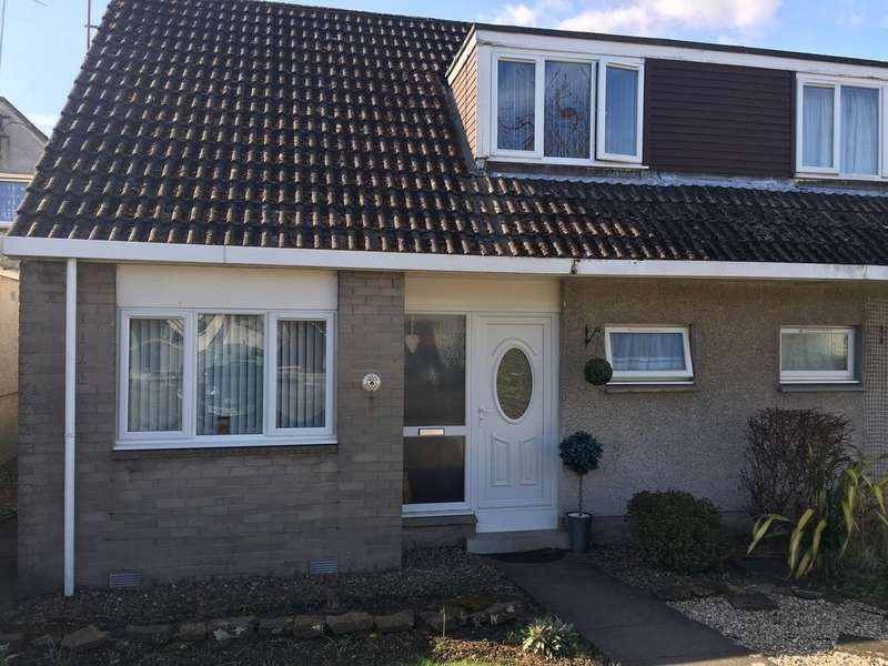2 Bedrooms Semi Detached House for sale in Castlebank Gardens, Cupar KY15