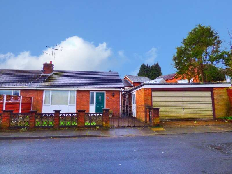 2 Bedrooms Semi Detached Bungalow for sale in Livsey Lane, Heywood, Greater Manchester, OL10