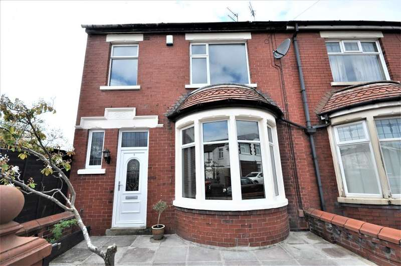 3 Bedrooms Semi Detached House for sale in Harley Road, Blackpool, Lancashire, FY3 9EE