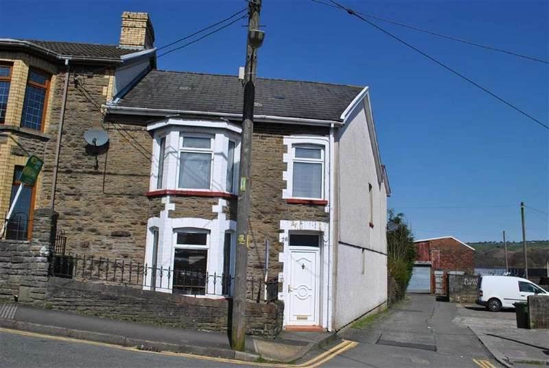 4 Bedrooms End Of Terrace House for sale in Capel Street, Bargoed