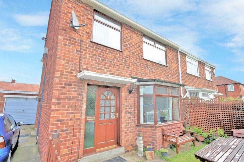 2 Bedrooms Semi Detached House for sale in Co-operative Close, Loftus