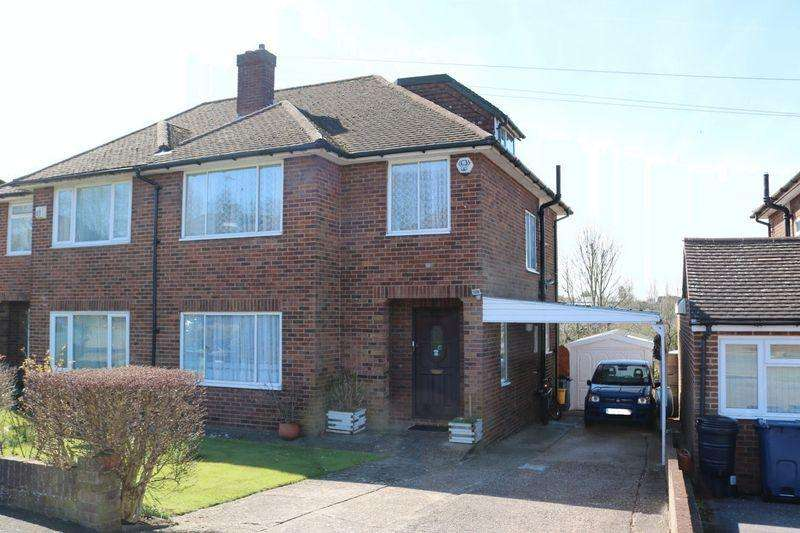 4 Bedrooms Semi Detached House for sale in Carver Hill Road - Large Semi, Extended Into Loft To Rear